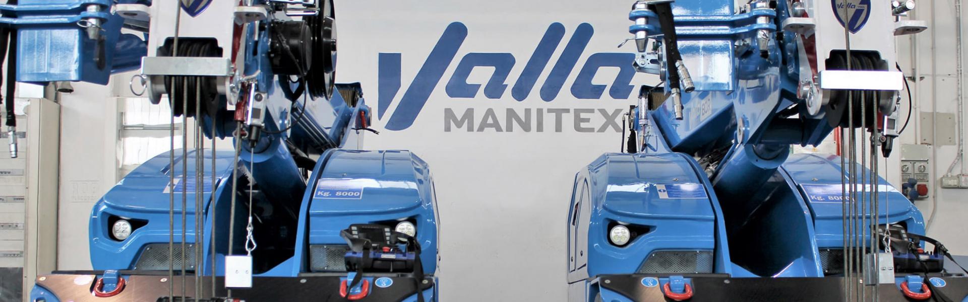 Valla Manitex: sale, rental, assistance and maintenance service